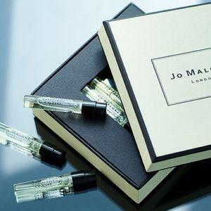 Jo Malone Wood Sage & Sea Salt Samples x5